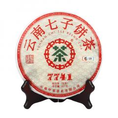 2019年中茶 7741 生茶 357克/饼