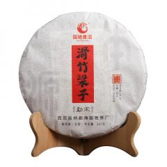 2019年国艳 本源系列 勐宋 滑竹梁子 生茶 357克/饼