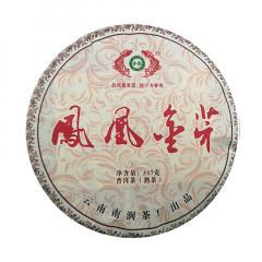 2016年古德凤凰(南涧茶厂) 凤凰金芽 熟茶 357克/饼