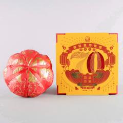 2019年下关 我和我的祖国 70周年纪念茶 如意金瓜 易武贡茶 生茶 700克/盒