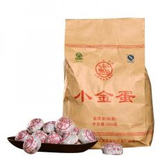 2011年八角亭 小金蛋 熟茶 500克/袋