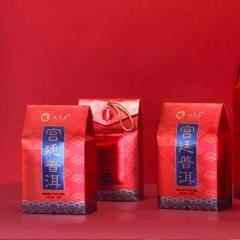2018年润元昌 801宫廷普洱 礼盒装熟散茶 熟茶 160克/袋