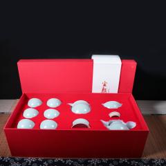 茶具礼盒套装 汝窑精品 家用茶壶茶海茶杯茶漏