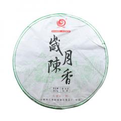 2019年云章 岁月陈香 生茶 357克/饼 单片
