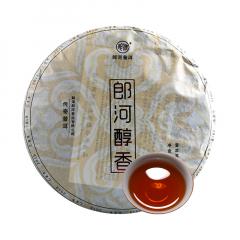 2019年郎河 郎河醇香 熟茶 357克/饼