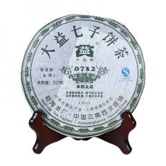 2007年大益 0782 701批次 生茶 357克/饼 单片