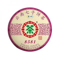2019年中茶 8581 生茶 357克/饼