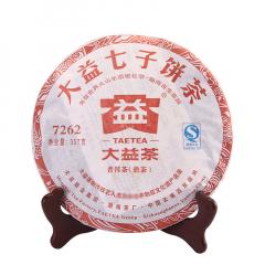 2011年大益 7262 102批 熟茶 357克/饼