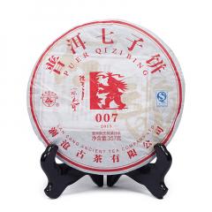 2015年澜沧古茶 007 生茶 357克/饼