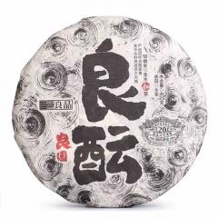 2019年老同志 良园良酝 生茶 400克/饼