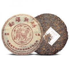2004年南峤茶厂 麒麟吐玉 熟茶 357克/饼
