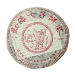 2005年南峤茶厂 万象更新 熟茶 357克/饼