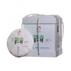 2019年龙园号 开春第一饼 生茶 1200克/盒