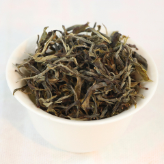 [春茶现货]2020年布朗山 章家三队 头春纯料散茶 春茶 生茶 品鉴装25克