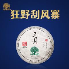 2020年福元昌 三月刮风寨(头春正山纯料)春茶 生茶 100克/饼 单片