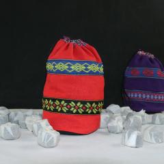 民族风格小布袋  装小沱茶专用