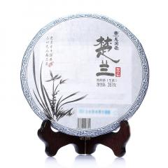2013年龙润茶 楚兰 生茶 357克/饼