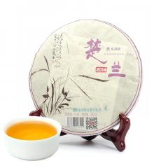2014年龙润茶 楚兰 生茶 357克/饼
