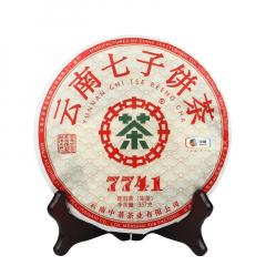 2020年中茶 7741 生茶 357克/饼