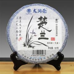 2012年龙润茶 楚兰 生茶 357克/饼