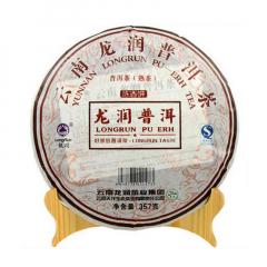 2008年龙润茶 陈香饼 熟茶 357克/饼