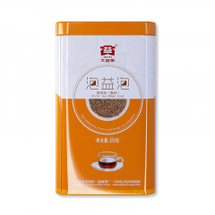 2014年大益 泡益泡 袋泡茶 散茶 熟茶 150克/罐