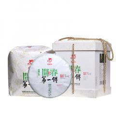2020年龙园号 开春第一饼 生茶 1200克/盒