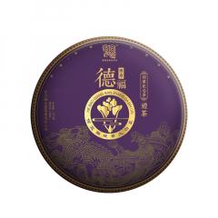 2020年今大福 德福班章 熟茶 357克/饼