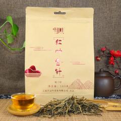 2020年千山叶 红叶金针·松针 滇红工夫红茶 180克/袋
