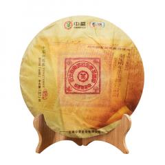 2019年中茶 大红印经典版 生茶 357克/饼 单片