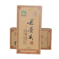 2020年八角亭 老茶头 熟茶 400克/盒