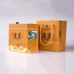 2020年拉佤布傣 老寨 普洱生茶+滇红茶 240克/盒