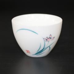茶具 茶道配件 兰花 品茗杯茶杯