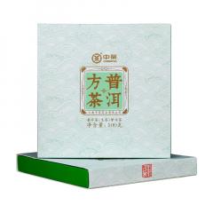 2020年中茶 普洱方茶 生茶 100克/砖