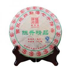 2012年陈升号 陈升精品 生茶 357克/饼 单片