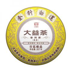 大益 金针白莲 熟茶 357克 1饼