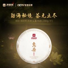 【春茶预售】2021年洪普号 探秘系列·鬼茶 生茶 200克/饼 1饼