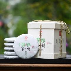 2021年龙园号 开春第一饼 生茶 1200克/盒