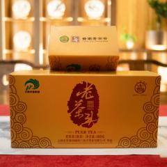 2021年八角亭 老茶头 熟茶 400克/盒