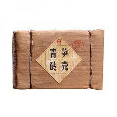 2012年大益 笋壳青砖 201批 生茶 250克