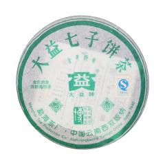 2005年大益 金色韵象  生茶 200克/饼