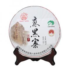2021年八角亭 麻黑寨 易武老树纯料 生茶 357克/饼