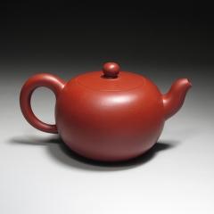 一粒珠220cc  原矿家藏大红袍【朱大伟作品】宜兴紫砂壶