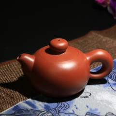 小圆珠200cc  原矿家藏大红袍【朱大伟作品】宜兴紫砂壶