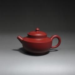 宫灯190cc【朱大伟作品】原矿家藏大红袍  宜兴紫砂壶