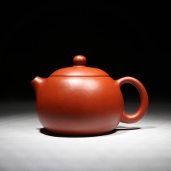西施-内刻茶经160cc  极品纯正原矿大红袍【庄丽珍作品】宜兴名家正品紫砂壶