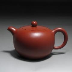 圆珠180cc 原矿大红袍【朱大伟作品】宜兴名家作品紫砂壶