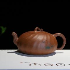 莲趣310cc 原矿降坡泥【余立平作品】宜兴实力匠人正品紫砂壶