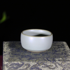 青瓷小桶杯50cc【邵云琴作品】宜兴青瓷杯