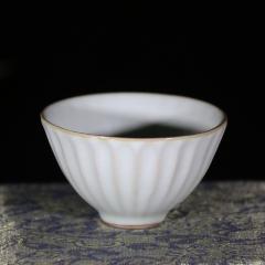 青瓷菊瓣杯80cc【邵云琴作品】宜兴正品青瓷杯